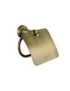 Aksy Bagno Queen QT-A8508-1 Bronze Бумагодержатель с крышкой