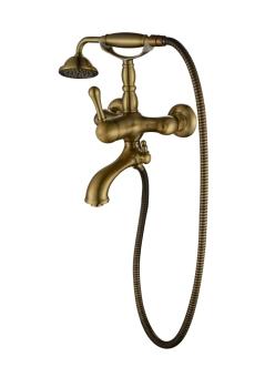 Смеситель для ванной Aksy Bagno Faenza-Light 401 Бронза