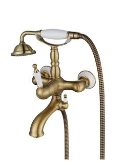 Смеситель для ванны Aksy Bagno Faenza 401 Бронза