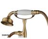 Смеситель для ванны Aksy Bagno Lucia 201 Бронза