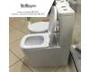 BelBagno Albano BB120CPR –  Унитаз безободковый с бачком, P-trap, сиденье-микролифт