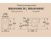 BelBagno Alpina BB10100CHR Унитаз подвесной, безободковый