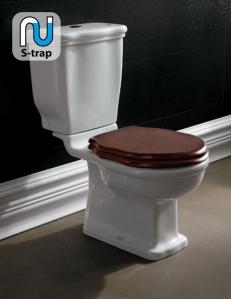 BelBagno Boheme BB115CPS – Унитаз с бачком, арматурой и деревянным сиденьем