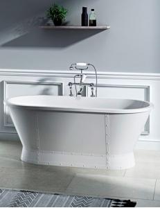 BelBagno BB35 Ванна отдельностоящая 168х78 см, белый глянцевый