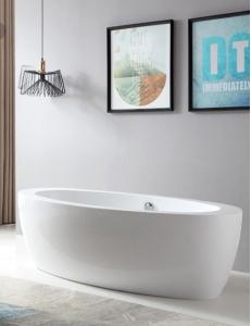 Abber AB9206 Ванна акриловая отдельностоящая 185х91 см, белый