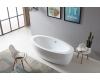 Abber AB9206 Ванна акриловая отдельностоящая, 185х91 см, белый