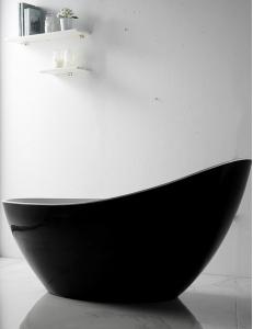 Abber AB9233B Ванна акриловая отдельностоящая 184х79 см, черный