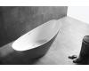 Abber AB9233G Ванна акриловая отдельностоящая, 184х79 см, серый