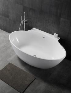 Abber AB9237 Ванна акриловая пристенная 172х103 см, белый