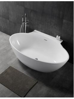 Abber AB9237  Ванна акриловая пристенная, 172х103 см, белый