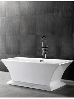 Abber AB9238 Ванна акриловая отдельностоящая, 170х80 см, белый