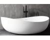 Abber AB9239 Ванна акриловая отдельностоящая, 180х110 см, белый