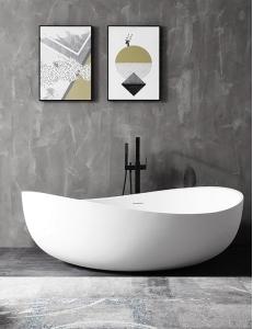 Abber AB9239 Ванна акриловая отдельностоящая 180х110 см, белый