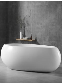 Abber AB9243 Ванна акриловая отдельностоящая, 170х80 см, белый