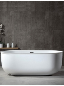Abber AB9244 Ванна акриловая отдельностоящая, 170х80 см, белый