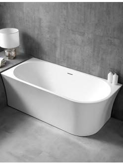 Abber AB9257-1.7  Ванна акриловая пристенная, 170х78 см, белый