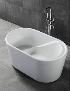 Abber AB9277 Ванна акриловая отдельностоящая 130х75 см, белый
