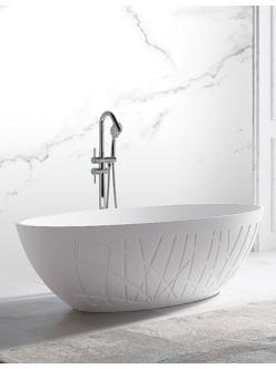 Abber AB9283 Ванна акриловая отдельностоящая, 175х100 см, белый