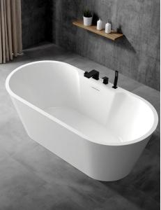 Abber AB9299-1.7 Ванна акриловая отдельностоящая 170х80 см, белый
