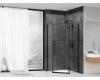 Abber Ewiges Wasser AG05080B Душевой уголок с распашной дверью