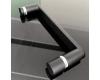 Abber Schwarzer Diamant AG30140B Душевая дверь 140х190 см