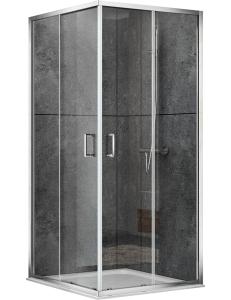 Abber Schwarzer Diamant AG02129 Душевой уголок 120х90 см с раздвижными дверьми
