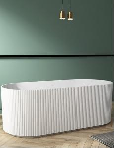 Abber AB9325-1.7 Ванна акриловая отдельностоящая 170х80 см, белый