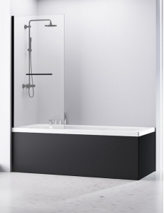 Abber Immer Offen AG70080B Шторка для ванны 80х140 см