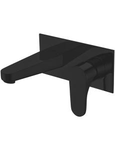 Abber Eleganz AF8312B смеситель для раковины скрытого монтажа, черный