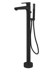 Abber Eleganz AF8315B смеситель для ванны напольный, черный