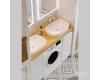 Alavann Soft Double 135 – Мебель для ванной под стиральную машину