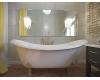 AquaStone Лиона 190x86 – ванна из литьевого мрамора на ножках