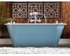 AquaStone Неона 167 – Овальная пристенная ванна из искусственного камня