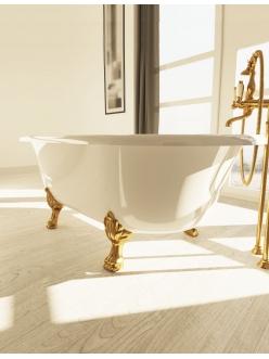 AquaStone Оливия 180x90 – ванна из искусственного камня на ножках