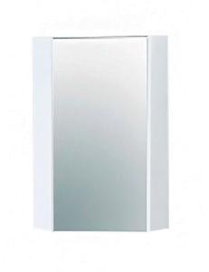 Акватон Кантара  42 Зеркальный шкаф угловой, Дуб Полярный