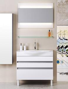 Aqwella Bergamo  80 Напольный комплект мебели