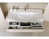 Aqwella Bergamo 100 – Напольный комплект мебели для ванных комнат