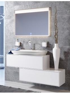 Aqwella Genesis 100 GEN0110W – Комплект модульной мебели для ванной комнаты