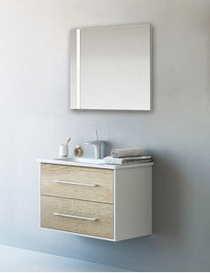 Aqwella Miami  80 – комплект мебели для ванной