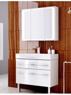 Aqwella Milan 100 – Напольный комплект мебели для ванных комнат