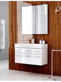 Aqwella Milan 80 – Подвесная мебель для ванных комнат с выдвижными ящиками