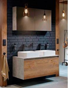 Aqwella Mobi 120 Подвесной комплект мебели для ванной