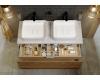 Aqwella Mobi 120 (Моби 120) Подвесная мебель для ванной под накладную раковину(ы)