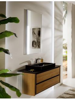Armadi Art Bocciolo BC111 – Подвесная мебель для ванной с прямоугольной раковиной