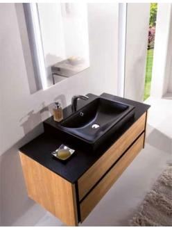 Armadi Art Bocciolo BC126 – Подвесная мебель для ванной с прямоугольной раковиной