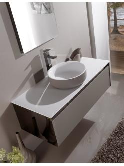 Armadi Art Dorato DRL – Подвесная мебель для ванной с накладной круглой раковиной