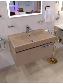 Armadi Art Opaco OP61 – Подвесная мебель для ванной с прямоугольной раковиной