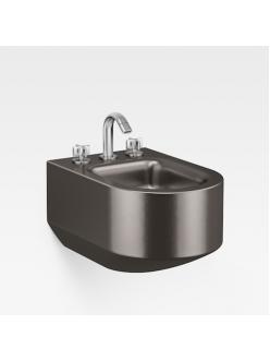 Armani Roca Baia – Биде подвесное с 3 отв. под смеситель, dark metallic (3570C6R40)