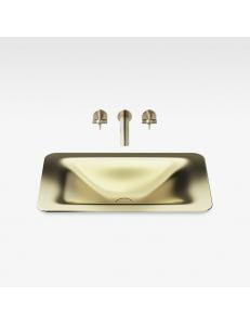 Armani Roca Baia Раковина встраиваемая сверху 66 см, matt gold