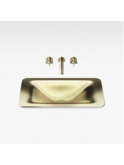 Armani Roca Baia – Раковина встраиваемая сверху 66 см, matt gold (3270C3R80)